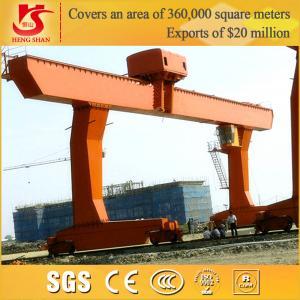 China China top design MDG model l type single girder gantry crane on sale
