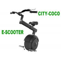 Black Self Balance Travel Mobility Scooter , 60V 800W Small Mobility Scooter Manufactures