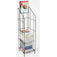 Wire Magazine Display Racks For Gocery Stores with Chrome Plating Manufactures