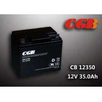 Sealed AGM Lead Acid Battery 12V 35AH CB12350 Solar Wind Elcectricity Supply Manufactures