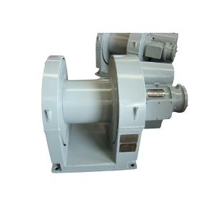 China 10 Ton Electric Heavy Duty 1000KN Power 85Kw Ship Mooring Winch on sale