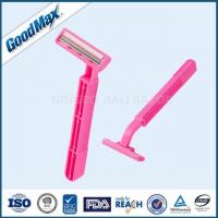 Close Shave Good Max Razor Pink Color For Sensitive Skin With Lubricant Strip Manufactures