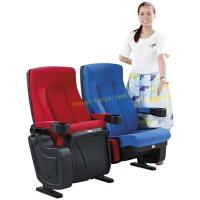 High Back Reclined Home Cinema Theater Chairs With Fireproof Fabric Manufactures