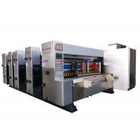 China fast speed flexo printer slotter machine corrugated carton box printing machine on sale