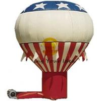 Colorful Custom Inflatable Advertising Balloon 8m Oxford Fabric For Backyard Parties Manufactures