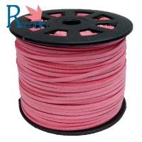 Top quality hot sale 3mm  Faux Flat Suede Leather Cord Manufacturer For Jewelry Making Manufactures