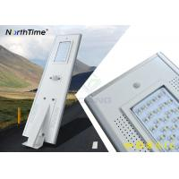 Last 7 Rainy Days 6500-7000 Lumens Integrated Solar LED Street Light for Warehouse Manufactures