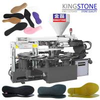 China Kingstone Machinery Rotary Plastic Sole Injection Moulding Machine on sale