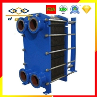 China  				Piston Cooling Special Plate Heat Exchanger, Main Engine Oil Cooling Titanium Plate Heat Exchanger 	         on sale