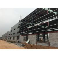 China Pre Fabricated All Steel Structure Warehouse With Aluminum Sliding Window on sale
