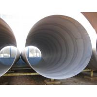 S235 EN10225 Spiral Steel Pipes for liquid use Manufactures