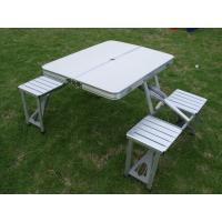 Portable Pinic Folding Outdoor Camping Table And Chairs With Aluminun MDF Manufactures