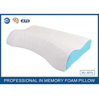 China Visco Elastic Memory Foam Massage Pillow Neck Pillow with Comfortable Cover on sale
