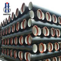 China Centrifugal ductile iron pipe-Cast iron pipe,EN545 80mm-1200mm on sale
