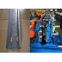 Automatic C Purlin Forming Machine , Purlin Making Machine Easy Installation Manufactures