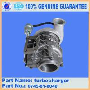 China PC300-8 komatsu excavator turbocharger 6745-81-8040 on sale