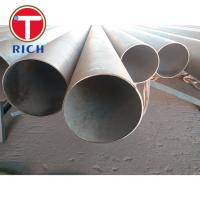 304 Stainless Steel Welded Pipe High Precision ASTM A213 ASTM A269 Manufactures