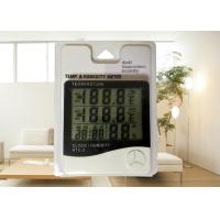 China Indoor / Outdoor Digital Hygro Thermometer LCD Display For Humidity And Temperature on sale