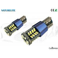 Buy cheap Fine Blue AL Radiator CE Certified T10 5PCB 40SMD 3014 Auto LED Bulbs Canbus 360°Beam Angle for Auto Reading Light from wholesalers