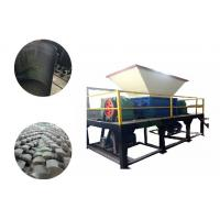 China Four Shaft Waste Wood Shredder Machine With 4-5t/H Capacity Low Noise on sale