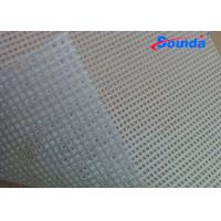 1000 * 1000D 9 * 9 260g/sqm Mesh PVC Foam Board for anti typhoon / strong wind SM1010 Manufactures
