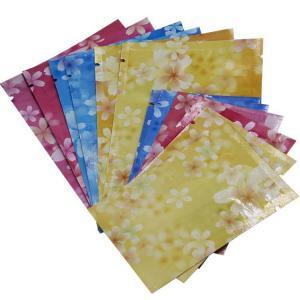 Custom Printed  Aluminum Foil Plastic Packaging Sachet Bag with Zip-lock Manufactures