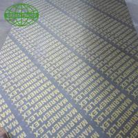 Construction use 18mm Film Faced Plywood film faced shuttering ply Manufactures