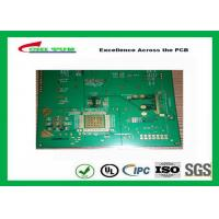 1.2mm Hole Size 0.2mm Quick Turn PCB Prototypes Assembly 6 Layer Hard Gold PCB Manufactures