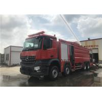 Buy cheap Manual 16 Forward gear Foam Fire Truck 304 high quality corrosion resistant from wholesalers