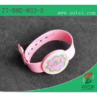 RFID one-time PVC wristband tag (LF/HF, Infants special. Product Type:ZT-BWD-W03-S) Manufactures