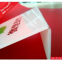 Printing Logo Publicity Desktop Acrylic Display Stands Clear Plastic Manufactures