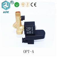 China Automatic Water Drain Valve With G Thread , Brass High Speed Solenoid Air Valve on sale