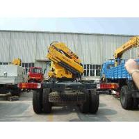 XCMG SQ14ZK4Q Truck Mounted Articulated Boom Crane 14t Manufactures