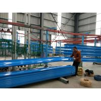 Powder Coating W Beam Guardrail , Highway Guardrail With Excellent Anti Corrosion Manufactures