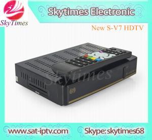 China SKYBOX V7 Digital Satellite Receiver S V7 S-V7 with AV output VFD 3g on sale