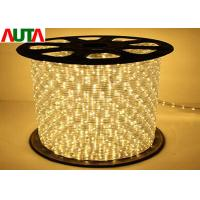 PVC Christmas Super Bright LED Rope Lights  220V -45 - 50 Centigrade Working Temperature Manufactures