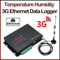 China Temperature Humidity 3G Ethernet Data Logger on sale