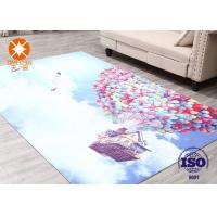 Swan Lake Home Decoration Printed Felt Carpet Sheets Manufactures