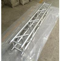2 Meter 4 Sides Brace Tube 290 * 290mm Spigot Aluminum Stage Truss For Outdoor & Indoor Manufactures