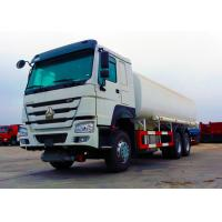 Ten Wheels Petrol Tank Truck , 3 Axles 12.00R20 Tire Oil Delivery Truck Manufactures