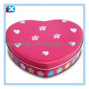 China sweet chocolate candy tin box on sale