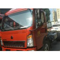 Buy cheap 5T SINOTRUK HOWO Light duty truck in red color with 7.50R16 tyre from wholesalers