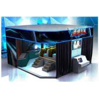 China 6 / 8 / 9 / 12 Seat VR 9D Action Cinemas With Multiple LED Display Screens on sale