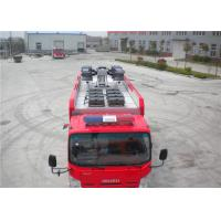 Wireless Control ISUZU Chassis Rescue Fire Truck 4x2 Drive 95km/H Manufactures