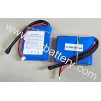 China 4S1P 13.2 2500mAh A123 26650 cell- high discharge current a123 lifepo4 battery pack 2.5Ah 13.2V on sale