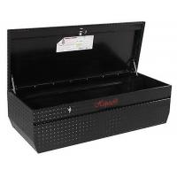 Professional Aluminum Truck Tool Boxes Silver / Black Color With Logo Printed Manufactures