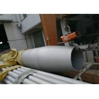 China 2B Surface 304/316 Stainless Steel Welded Pipes For Industry 1/2''-16'' on sale