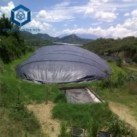 China Black HDPE Geomembrane 1.5mm ASTM Standard for Biodigester Project on sale