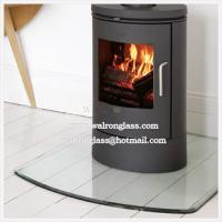 Glass Hearth as fireplace accessories