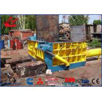Non Ferrous Scrap Metal Compactor , 3Ton Per Hour Scrap Baling Press Machine